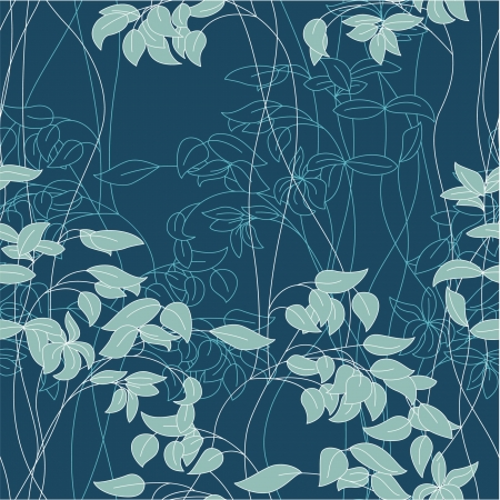 Abstract foliage seamless Vector