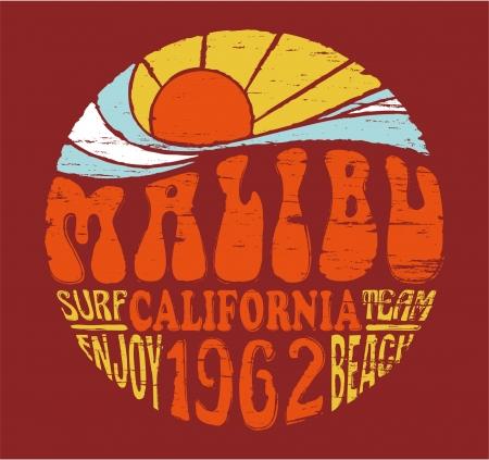 chica surf: Obras de arte de verano