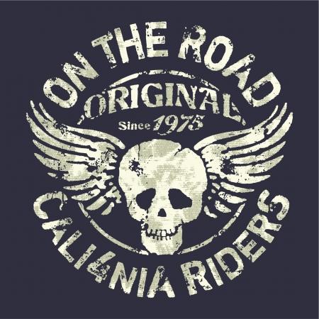 California motocicleta pilotos del equipo