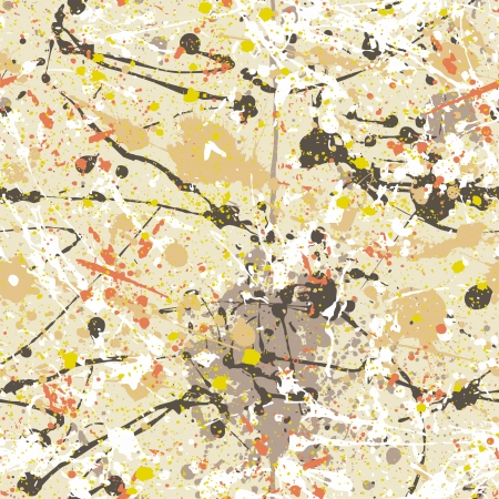 Splatter paint wallpaper - Abstract vector seamless pattern Vector