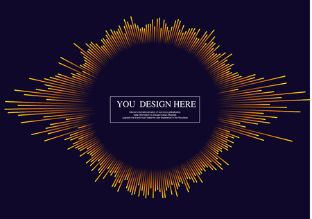 Lines composed of glowing backgrounds, abstract  background, radiating lines Illustration