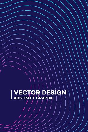 Abstract gradient wave lines or sound flyer, music festival poster, graphic design banner or cover