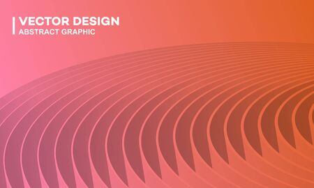 Conference background or poster cover, abstract lines background illustration, presentation template
