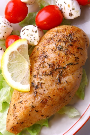 Grilled chicken breast Stock Photo - 12457217