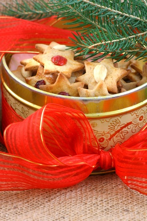 Christmas biscuit stars Stock Photo - 12457238
