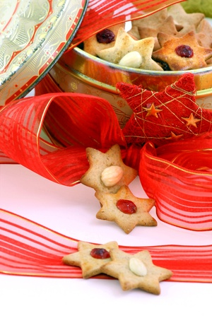 Christmas biscuit stars Stock Photo - 12457176