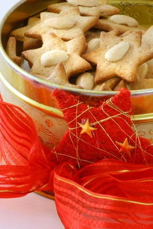 Christmas biscuit stars Stock Photo - 12457181