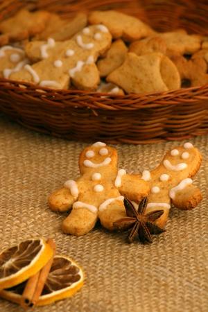 Christmas gingerbread man Stock Photo - 12457167