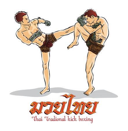 kick boxing,Thai traditional
