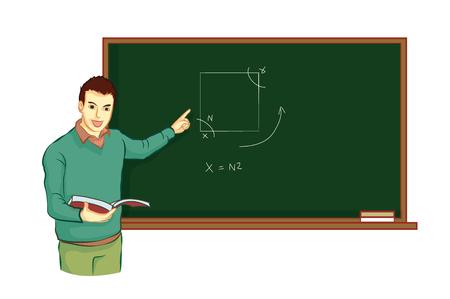teacher teach student