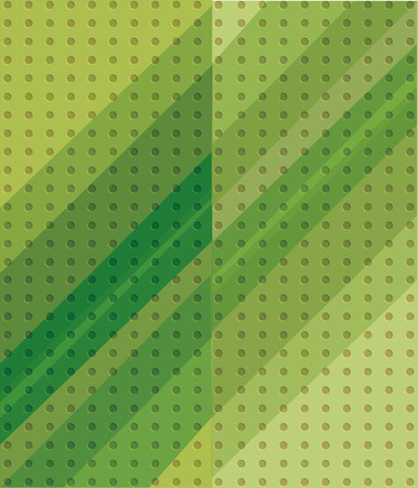 felling: green shade on background dot texture Illustration