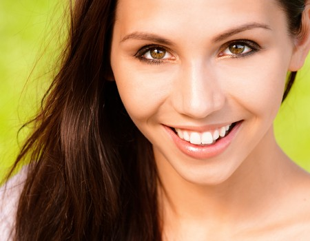 Portrait of smiling young woman Stock Photo - 8065996