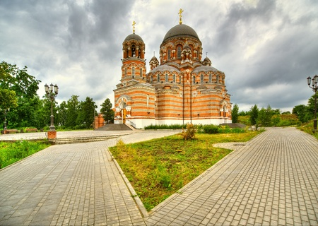 Ancient Christian cathedral. Stock Photo - 9659641