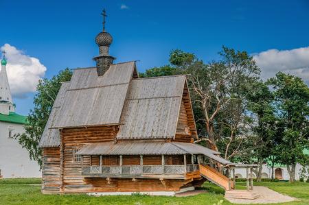 Nicholas Wood (Glotovskaya) church in Suzdal, Russia photo