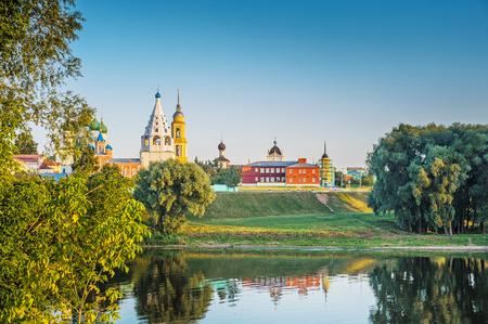 Kolomna Kremlin from Moskva River. photo