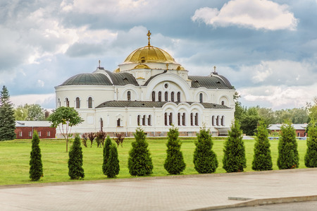 feat: Garrison St. Nicholas Church is located in central part of Brest Fortress.