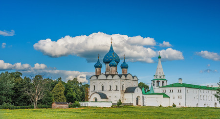 Suzdal. Russia. Nativity Cathedral (XII-XVI centuries). photo