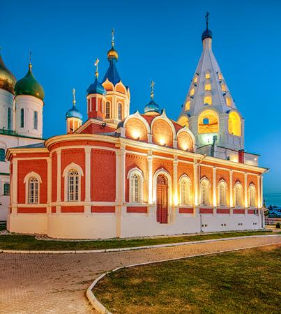 assumption: Kolomna. Russia. Assumption steepled belfry. Temple of Our Lady of Tikhvin. Kremlin