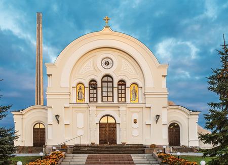 brest: Brest garrison cathedral of St Nicholas, Belarus