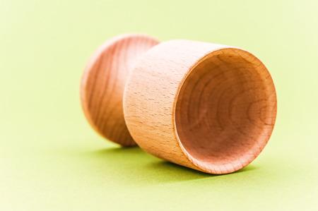 Wooden egg holder photo