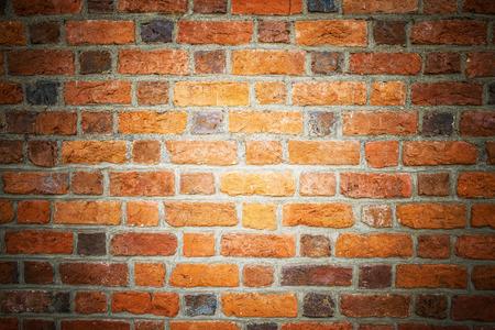 paredes de ladrillos: Textura del ladrillo naranja. Foto de archivo