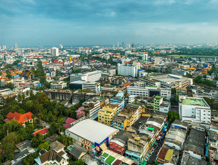 Bangkok is capital and most populous city of Thailand. photo