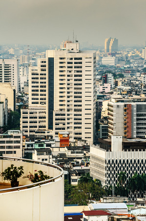 populous: Bangkok is capital and most populous city of Thailand. Stock Photo