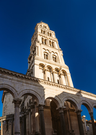 palaces: Diocletians Palace is an ancient palace built by the Roman emperor Diocletian at the turn of the fourth century AD, that today forms the center of the city of Split, Croatia.