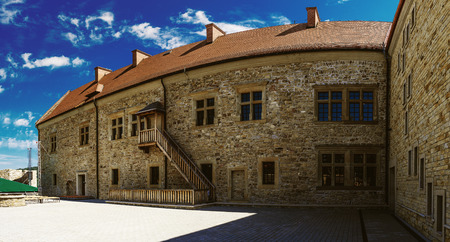 casimir: The Sanok Royal Castle was built in late 14th century in Sanok, Poland. The castle is situated on San River at hill 317 m above sea level on steep slope. Today it is seat of Sanok Historical Museum.