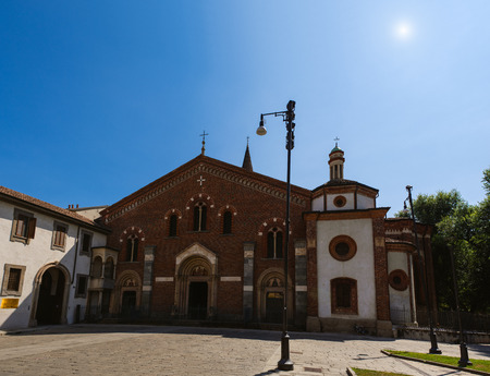 the holy land: Basilica of Sant Eustorgio is church in Milan in northern Italy, which is in Basilicas Park city park. It was for many years an important stop for pilgrims on their journey to Rome or to Holy Land.