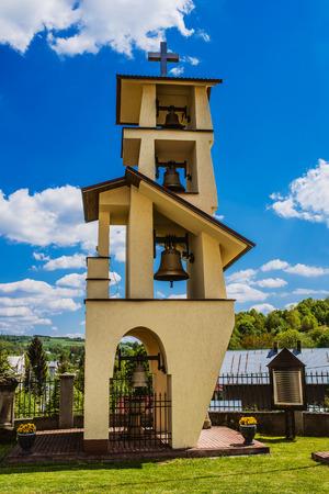the campanile: campanile. Kosciol Parafialny Znalezienia Krzyza Swietego w Niebylcu-Podkarpackie, Niebylec, Poland