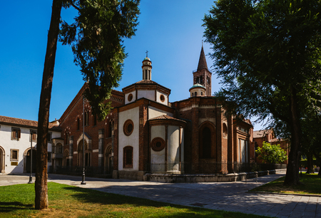 Basilica of Sant Eustorgio is church in Milan in northern Italy, which is in Basilicas Park city park. It was for many years an important stop for pilgrims on their journey to Rome or to Holy Land.