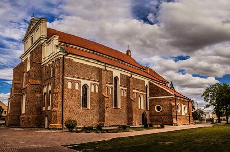 archangel: Lomza, Podlaskie Voivodeship, Poland, st. Dworna. Cathedral of Saint Michael the Archangel, XVI century