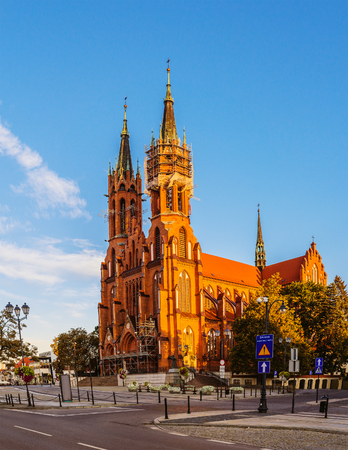 basilica: Cathedral Basilica of the Assumption of the Blessed Virgin Mary in Bialystok is the largest city in northeastern Poland and the capital of the Podlaskie Voivodeship.