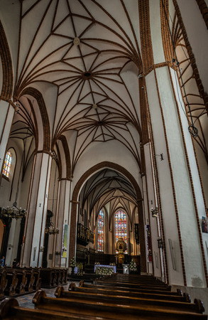 jesuit: St. Johns Archcathedral in Warsaw is Catholic church in Warsaws Old Town. St. John stands immediately adjacent to Warsaws Jesuit church, and mother church of archdiocese of Warsaw.