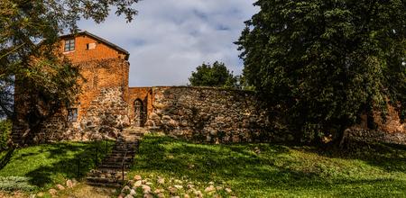 teutonic: Teutonic castle after renovation in Sztum, in Pomerania, Poland. Sztum Castle - located on Lake Sztum (Zajezierskim), located at Galla Anonima. Editorial
