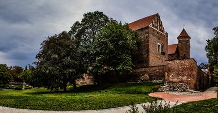 northeastern: Ordensburg castle built by Teutonic Order in Olsztyn. Olsztyn (Allenstein, Holstin) is city on Lyna River in northeastern Poland. Olsztyn is capital of Warmian-Masurian Voivodeship. Editorial