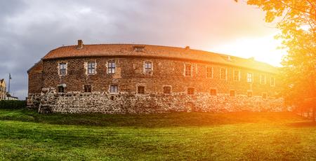 teutonic: Teutonic castle after renovation in Sztum, in Pomerania, Poland. Sztum Castle - located on Lake Sztum (Zajezierskim), located at Galla Anonima. Editoriali