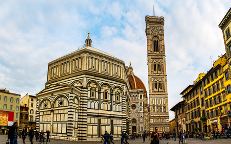 Duomo of Florence Cathedral (Saint Mary of Flowers) is main church of Florence, Italy. It is mother church of Roman Catholic Archdiocese of Florence, whose archbishop is currently Giuseppe Betori.