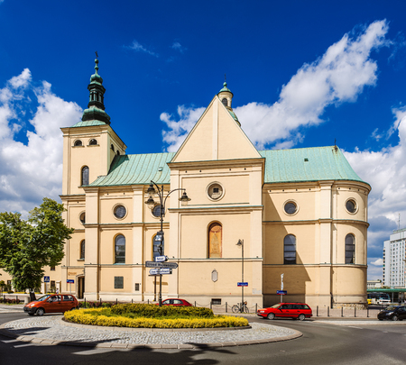 bl: Basilica of the Assumption of the Blessed Virgin Mary in Rzeszow, Poland
