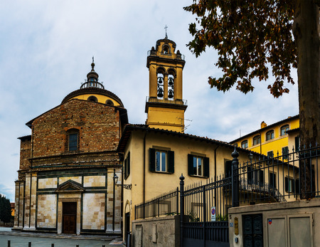 notable: Santa Maria delle Carceri is basilica church in Prato, Tuscany, Italy. It is considered one of earliest, most notable examples of use of Greek cross plan in Renaissance architecture.
