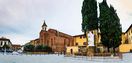 francis: San Francesco is church in Prato, Tuscany, central Italy. San Francesco's church, in homonym square, and an Important Place of Catholic worship. Monument to fallen heroes. Editorial
