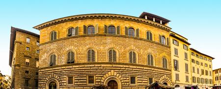 Palazzo Gondi is palace in Florence, Italy, located block from Piazza della Signoria. It was built in 1490 under design by Giuliano da Sangallo, like Palazzo Medici and Palazzo Strozzi.