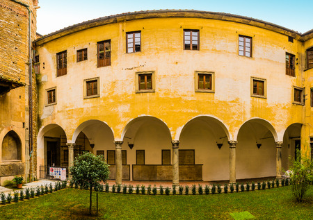 Badia Fiorentina is an abbey and church to Fraternity of Jerusalem situated on Via del Proconsolo in Florence, Italy. Dante supposedly grew up across street in what is now called Casa di Dante.