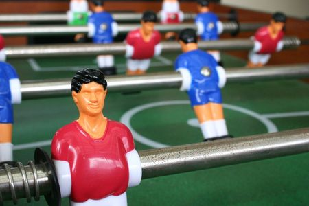 foosball: Foosball table