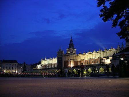 Krakow Square 版權商用圖片