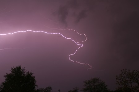 Lightning bolt photo