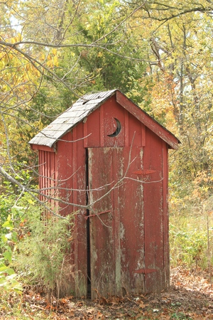 outhouse: Old Outhouse
