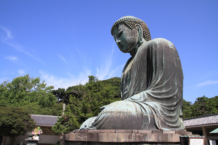 hase: The Great Buddha in Kotoku-in temple