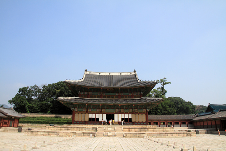 Changdeokgung in Seoul, Korea